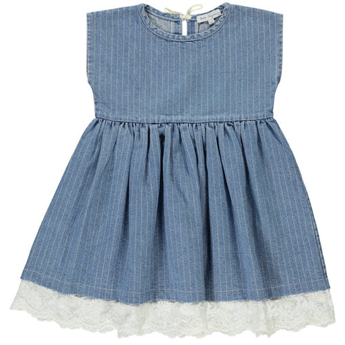 Bebe Organic Denim Marlene Dress