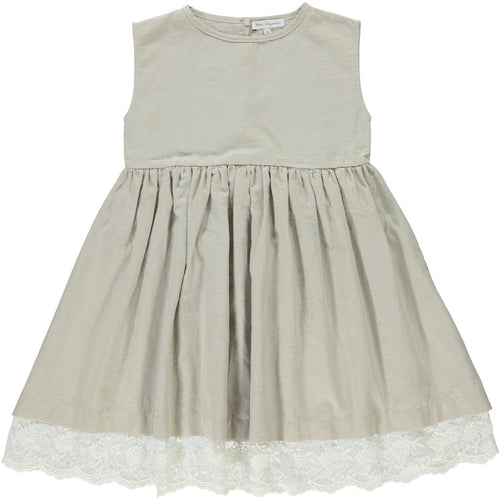 Bebe Organic Marlene Dress - Taupe
