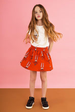 Load image into Gallery viewer, Hugo Loves Tiki Red Bunny Skirt 12-18M, 18-24M