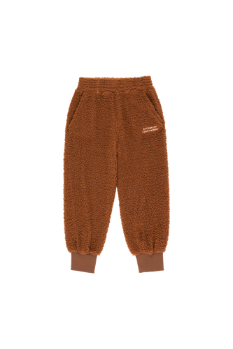 TINY COTTONS CITIZEN OF LUCKYWOOD SWEATPANT Dark Brown/Light Cream 6Y