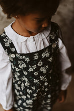 Load image into Gallery viewer, Little Cotton Clothes s - Brushed Cotton in Winter Rose Margo Dungaree Floral - 3-4Y