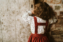 Load image into Gallery viewer, Little Cotton Clothes Heidi Skirt - Rust Needlecord - 18-24M, 2-3Y, 3-4Y, 4-5Y