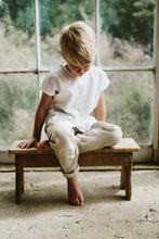 Load image into Gallery viewer, Little Cotton Clothes Brighton Tee - White Cotton Linen