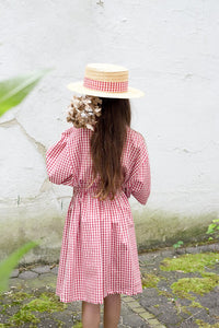 Frou Frou Dress Tunic - Check