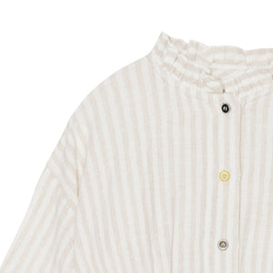 Yellow Pelota Laka Jacket - Shinny Stripes