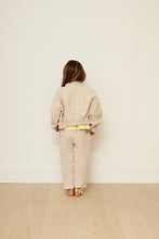 Load image into Gallery viewer, Yellow Pelota Laka Jacket - Natural Linen 3Y, 4Y, 5Y