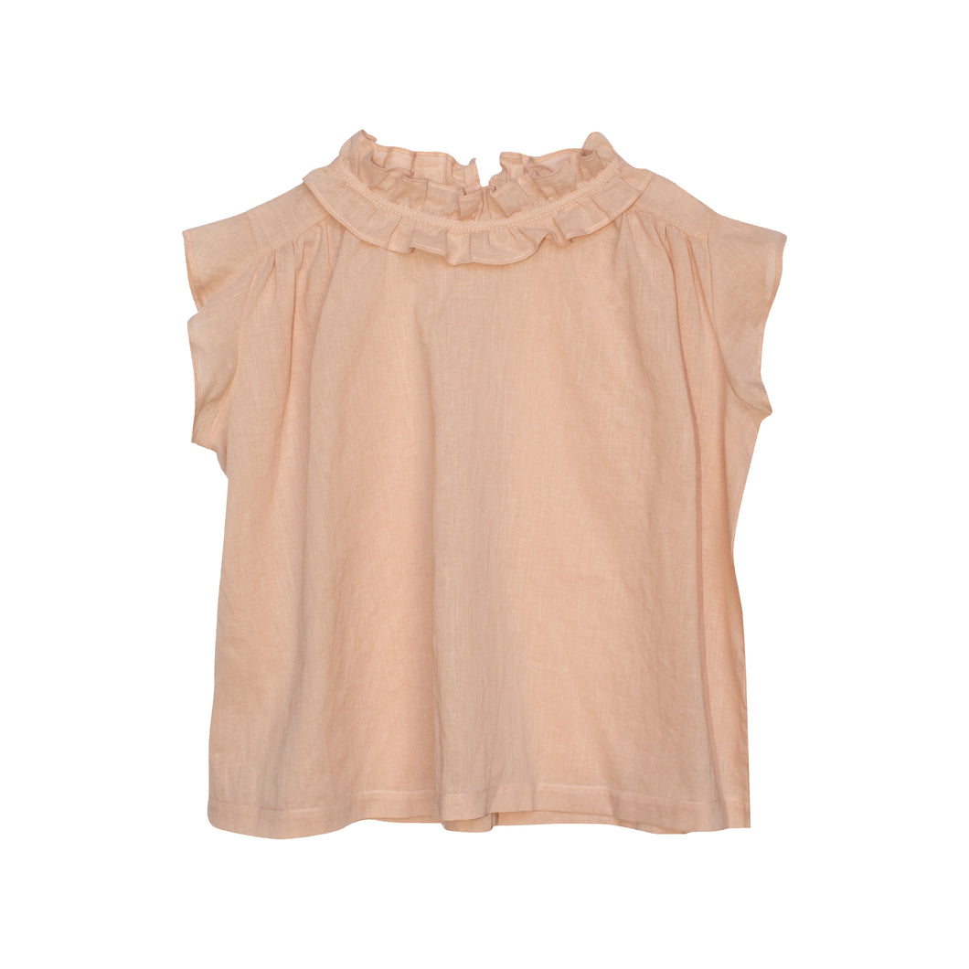 Yellow Pelota Catalina Blouse - Pink 4Y, 6Y