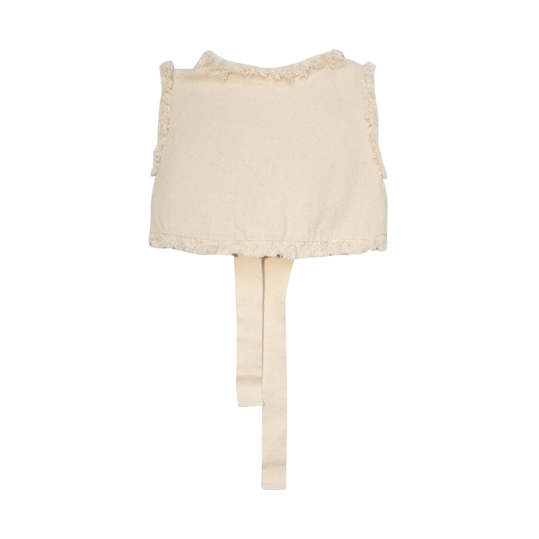 Yellow Pelota Mary Jane Top - Natural Last One 6Y