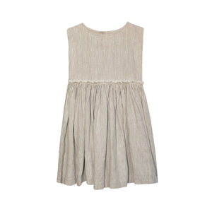 Yellow Pelota Margot Dress - Natural Last One 6Y