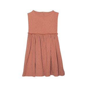 Yellow Pelota Antonia Dress - Terracota 2Y, 4Y, 6Y