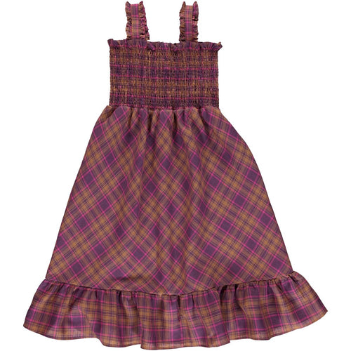 Bebe Organic Valentina Dress - Nostalgia Rose Checks - 3Y, 4Y