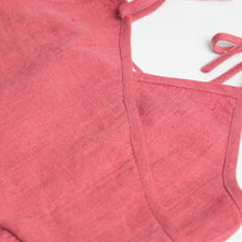 Load image into Gallery viewer, Nellie Quats Kiss-Chase Dress - Linen Raspberry 3-4Y,5-6Y