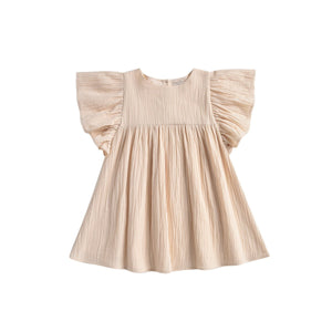 Louise Misha Organic Almas Dress - Cream