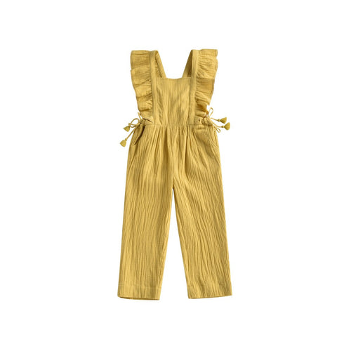Louise Misha Organic Amish Overall - Honey