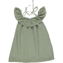 Load image into Gallery viewer, Bebe Organic Birgita Dress - Khaki 3Y, 4Y