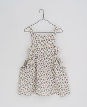 Load image into Gallery viewer, Little Cotton Clothes Roberta Pinafore - Aster Floral on Muslim - 2/3Y, 3/4Y, 4/5Y