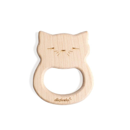 Ellie Fun Day All-Natural Maple Wood Cat Teether