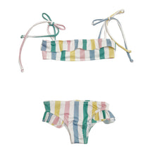 Load image into Gallery viewer, Hugo Loves Tiki Ruffled Bikini - Pastel 4T, 6T