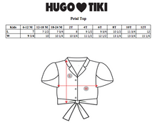 Load image into Gallery viewer, Hugo Loves Tiki Tie Crop Top - Pink Seashells