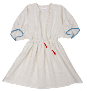 Frou Frou Dress Tunic - Sky