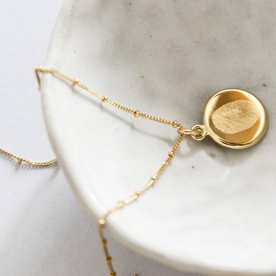The Double Sided Classic / Bobble Chain / 18k Gold Vermeil - Deja Marc Jewellery