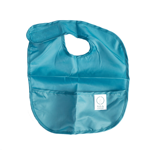 Blue bib for kids