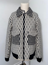 Load image into Gallery viewer, CHECKERED JACQUARD WORK JACKET