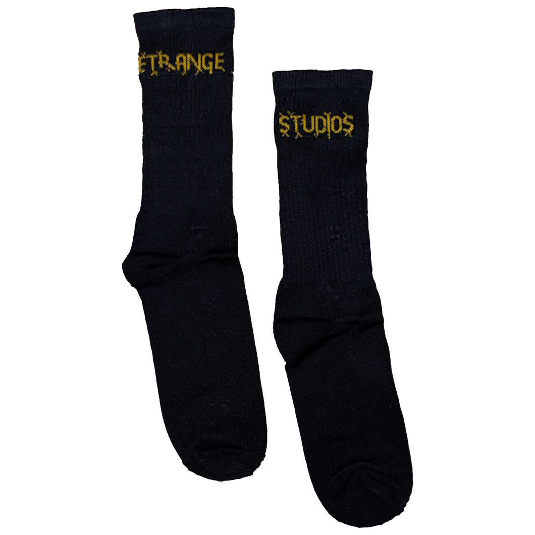 BLACK SPARK LOGO SOCKS