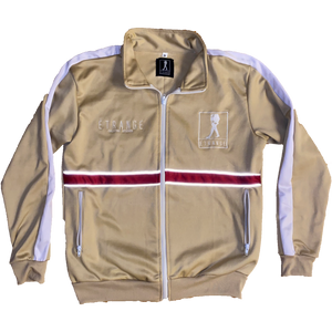 Logo Track Jacket (Tan)