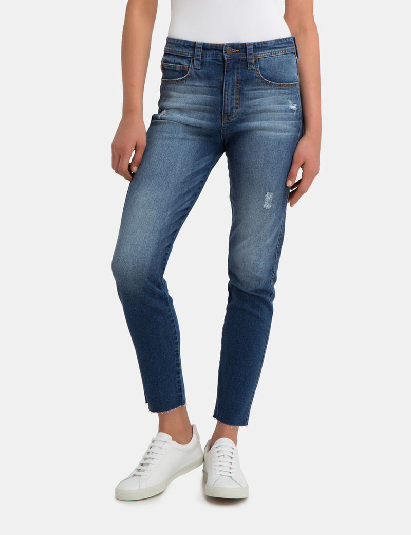 Molly Distressed Skinny Jean
