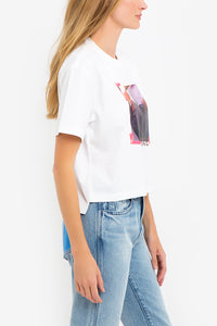Vintage Ad Cropped T-Shirt