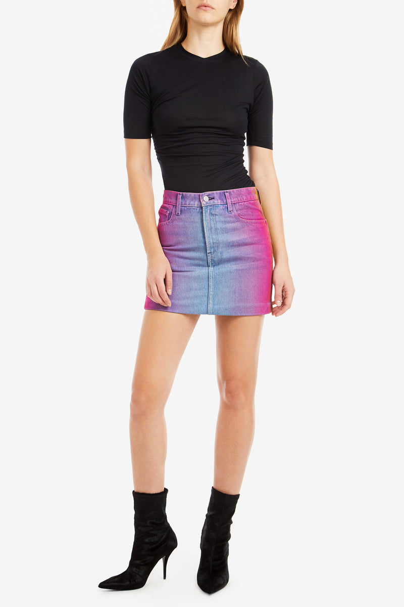 RAINBOW MINI SKIRT