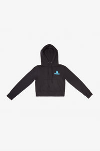 Blue Mini Logo Hooded Sweatshirt