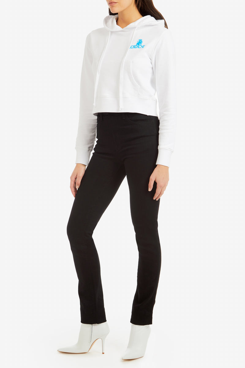 Modern Black High-Rise Slim