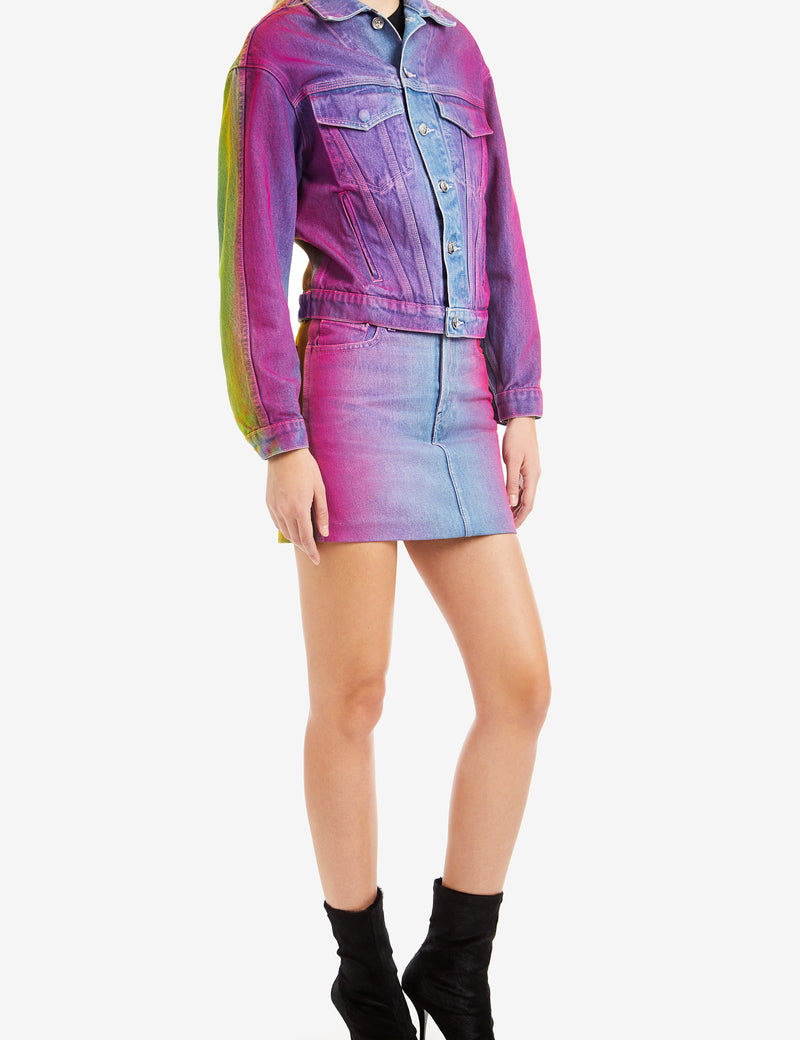 RAINBOW OVERSIZED JACKET