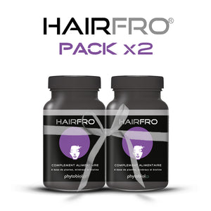 HairFro - Pack 2 Flacons 100 Capsules