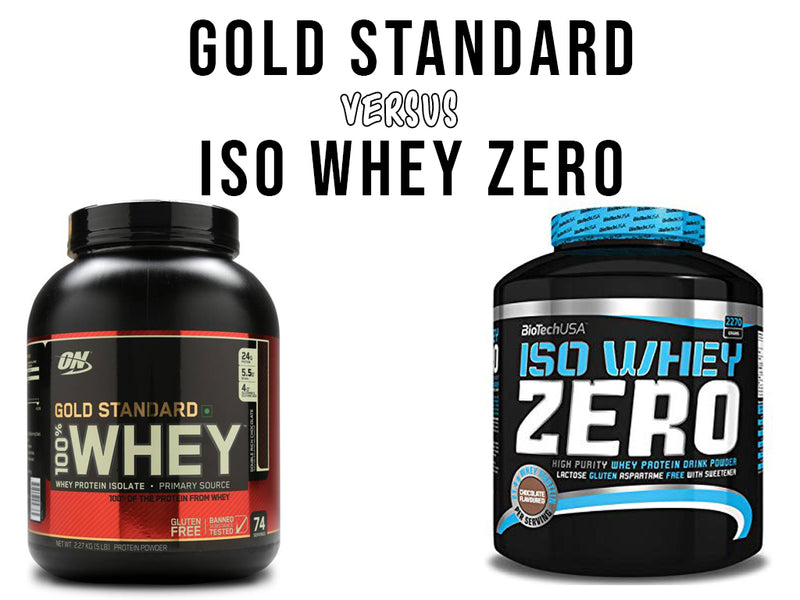 What is the best WHEY ISOLATE? Biotech USA versus Optimum Nutrition