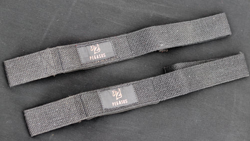 Lifting Straps Pegasus Black and Gold