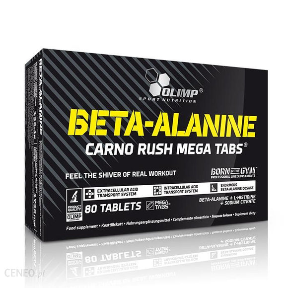 Olimp Beta-Alanine Mega Caps Olimp 80 Tablets | Pegasus Nation