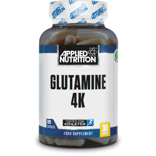 L-Glutamine 4K 120 Capsules Applied Nutrition | Pegasus Nation