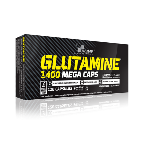 Olimp Glutamine 1400 Mega Caps | Muscle Recovery | Pegasus Nation