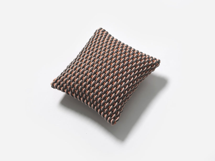 Super soft and durable pillow handmade from silicone cord suitable for both indoor and outdoor.