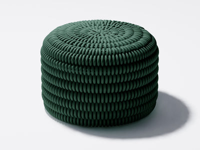 Solid Ottoman