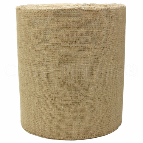 "12"" Natural Burlap Roll - Industrial Grade"