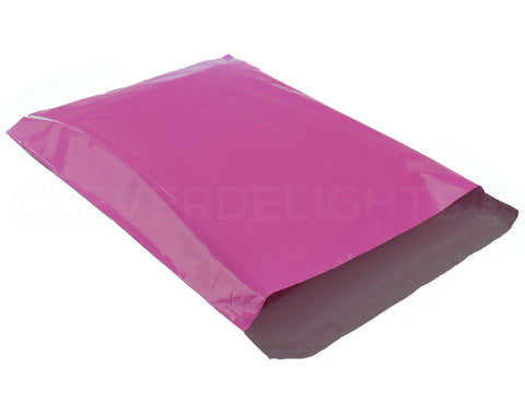 "Magenta Poly Mailers - 14.5"" x 19"""