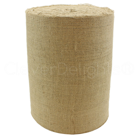 "14"" Natural Burlap Roll - Industrial Grade"