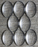 18x25mm Oval Glass Cabochons