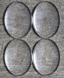 30x40mm Oval Glass Cabochons