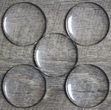 "40mm (1 9/16"") Round Glass Cabochons"