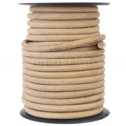 "1/4"" Genuine Leather Round Cord - Natural"